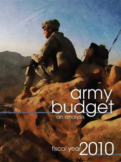 The Army Budget fiscal year 2010